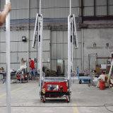 Automatische Concrete het Teruggeven van de Muur van de Apparatuur van de Bouw Machine