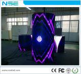 Schermo di visualizzazione flessibile del LED della curva della colonna rotonda