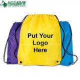 Sac durable en gros dernier cri personnalisé de forme physique de sac à dos de cordon d'Eco