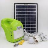 Jogos solares portáteis da iluminação do sistema de energia