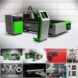 Vente chaude 2000 watts de machine de découpage à rayon laser en aluminium
