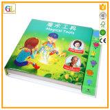 두꺼운 표지의 책 마분지 아동 도서 인쇄