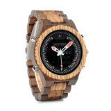 Goedkope Unisex- Houten Horloges van de Fabriek van China