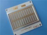"""Raios dourados (Entalhe) 1,8 mm de espessura da placa de circuito de PCB 0,071"""" PCB"""