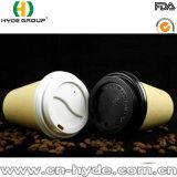 Wegwerfbambusmassen-Kaffeetasse mit Papiermaterial