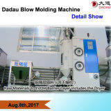 Processo moldando do sopro automático para páletes do Único-Lado 9-Stand