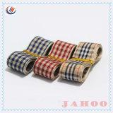 Оптовая торговля высококачественных моды дизайн декоративные полиэстер Клетчатую лента