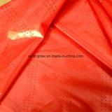Tessuto del taffettà del poliestere con perforato per l'indumento
