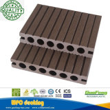 屋外WPCのDeckingの床、容易にインストールされる屋外WPCの木製のフロアーリング、