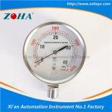 高品質のステンレス鋼のカプセルの圧力計