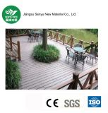 Plancher composé en plastique en bois extérieur de WPC (SY-01)