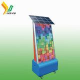 La Chine fournisseur extérieur intérieur d'énergie solaire en acier inoxydable automatique corbeille Corbeille avec panneaux de publicité