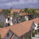 Azulejo de azotea revestido de la ripia del edificio de material para techos de la piedra barata de los materiales