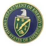 Aleación de zinc al por mayor de los Estados Unidos Americana chapado en oro del Departamento de Energía Desafío Coin/ Medalla (YB-C-013)