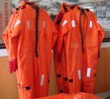 反射テープSolasかMedが付いている熱絶縁体の液浸スーツは承認した
