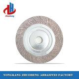 Material de óxido de alumínio da borboleta de lixa abrasiva de rodas para moagem (FW2510)