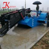 Largement utilisé la jacinthe d eau récolteuse/ drague pour l'exportation