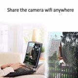 1080P cámaras de vigilancia impermeables al aire libre sin hilos de la batería IP66 de la cámara 3G 4G SIM WiFi del IP del punto negro de la energía solar 30W con 16GB TF