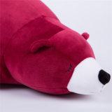 주문 견면 벨벳 빨강 판다 거대한 장난감 곰 5개 피트
