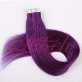 Ленты в Бразилии удлинитель волос Virgin прав Реми волос