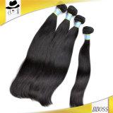 Prolonge brésilienne de cheveux humains de Vierge normale de couleur