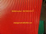 Gewelltes Gummiblatt-rutschfeste Gummifußboden-Matte