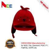 Junge gestickter Pompom-Winter-Hysteresen-Kind-Hut mit grossem Mund