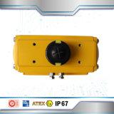 SS316 Clapet à bille avec Alumium actionneur pneumatique
