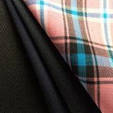 Tela Worsted de la tela escocesa de las lanas de la verificación, tela de la tela escocesa de la verificación del tartán, controlada adaptándose a la tela
