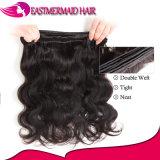 A onda frouxa cambojana empacota o cabelo humano natural do 1b 100% do preto