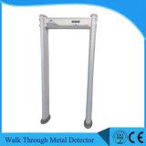 IP67 impermeabilizan la caminata a través de las puertas del detector de la meta