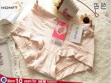 De modieuze Modale Hoge Taille van de Streep ventileert de Jonge Modellen van het Damesslipje van het Ondergoed van de Meisjes van de Kousen van de Driehoek van Meisjes