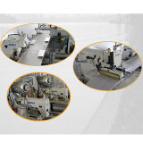 Colchão de costura horizontais Máquina Quilting transfronteiras
