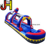 Al aire libre baratos inflables Rainbow Slip N Slide con piscina