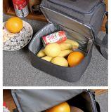 7L de dubbele Zakken van de Lunch van het Dek Koelere isoleerden de Stevige Thermische Lunchbox Handtassen van de Totalisator van de Zak van de Picknick van het Voedsel Koelere voor de Vrouwen van Mannen