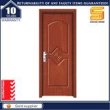 Porta de madeira do quarto do folheado do painel de madeira contínuo interior do PVC