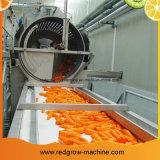 Морковь обрабатывающего станка