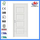 Дверь праймера одиночной панели нутряная белая