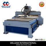Machine de travail du bois de commande numérique par ordinateur de couteau de commande numérique par ordinateur de Simple-Axe (VCT- 1325W)