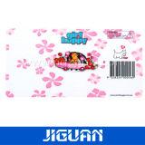 Impression estampée par papier lustré d'étiquette adhésive de /Coated de papier d'art (DC-LAB017)