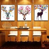 Maschera animale della parete della pittura a olio di HD per la decorazione domestica