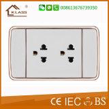 Haut de la qualité prise électrique 3 broches de la Thaïlande fabriqués en Chine