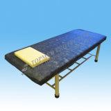 Wegwerf-SMS imprägniern den Bett-Deckel, blau