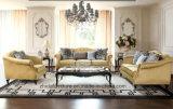 O sofá moderno da tela da sala de visitas do estilo ajustou-se (S6935)