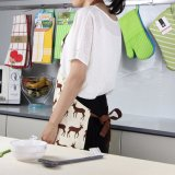 preço de fábrica venda quente avental de cozinha de moda
