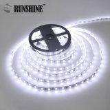 Bestes verkaufenstreifen-Licht Gleichstrom-SMD5050 weißes 6000K flexibles LED 12V/24V