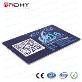 MIFARE (R) 4K RFID Papierkarte mit Qr Code für Zugriffssteuerung