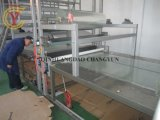 Gewölbtes FRP GRP Dach-Blatt des Fiberglas-, dasmaschine herstellt
