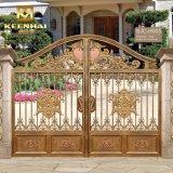 別荘の建築アルミニウム金属の庭の防犯ゲート