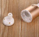 ビジネスプラスチック帯電防止+金属のシェル車1の抗力2無線電信のBluetoothのヘッドセット